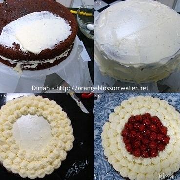 Dimah - http://www.orangeblossomwater.net - Black Forest Cake 4