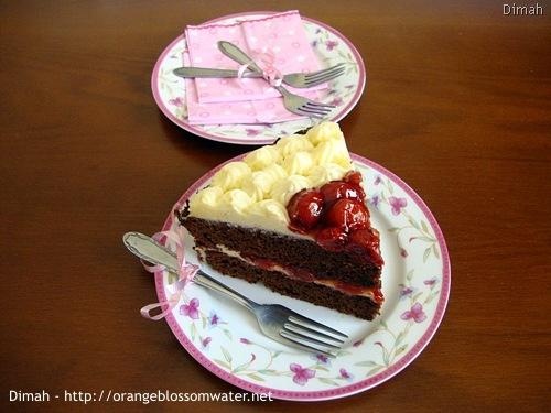 Dimah - http://www.orangeblossomwater.net - Black Forest Cake 8