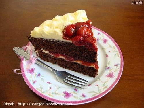 Dimah - http://www.orangeblossomwater.net - Black Forest Cake 90