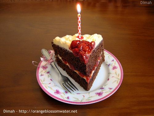 Dimah - http://www.orangeblossomwater.net - Black Forest Cake 93