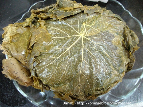 Dimah - http://www.orangeblossomwater.net - Grape Leaves