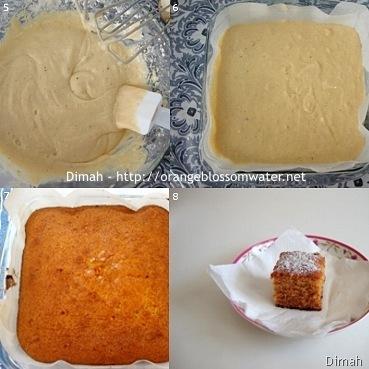 Dimah - http://www.orangeblossomwater.net - Ginger Spice Cake 2
