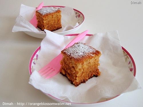 Dimah - http://www.orangeblossomwater.net - Ginger Spice Cake 4
