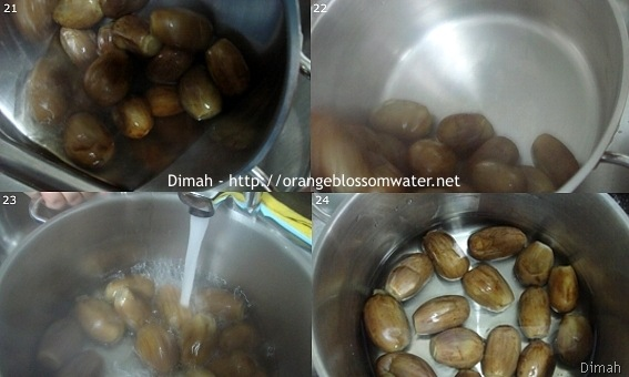 Dimah - http://www.orangeblossomwater.net - Makdous Al-Bathenjan 6