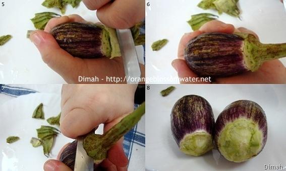 Dimah - http://www.orangeblossomwater.net - Makdous Al-Bathenjan 2