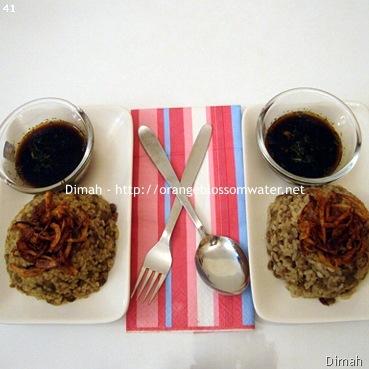 Dimah - http://orangeblossomwater.net - Mjaddaret Al-Aruz and Mjaddaret Al-Burghul 91
