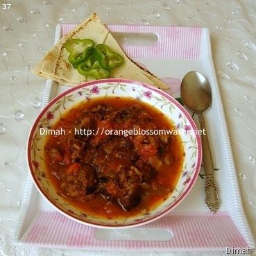 Dimah - http://www.orangeblossomwater.net - Bathenjan Mtabbaq 90