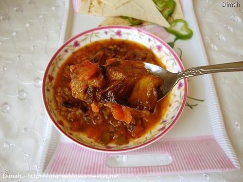Dimah - http://www.orangeblossomwater.net - Bathenjan Mtabbaq 94