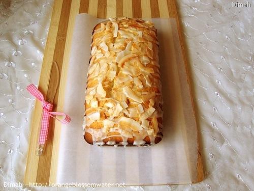 Dimah - http://www.orangeblossomwater.net - Lemon Coconut Bread 5