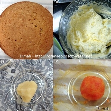 Dimah - http://www.orangeblossomwater.net - Old Fashioned Carrot Cake 3