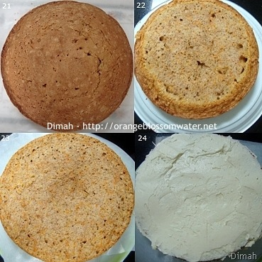 Dimah - http://www.orangeblossomwater.net - Old Fashioned Carrot Cake 6