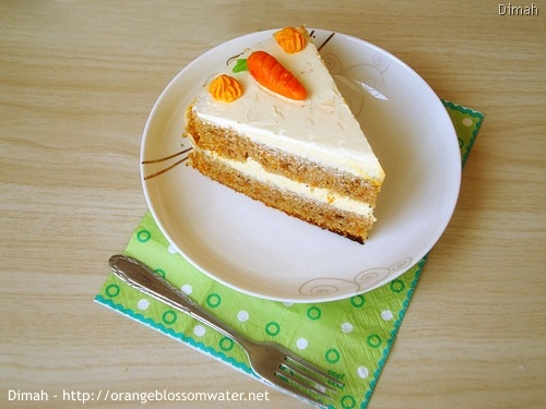 Dimah - http://www.orangeblossomwater.net - Old Fashioned Carrot Cake 94