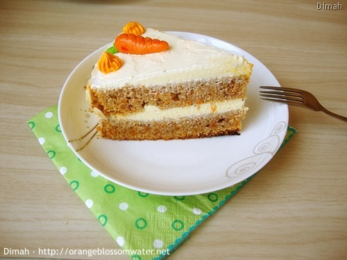 Dimah - http://www.orangeblossomwater.net - Old Fashioned Carrot Cake 95