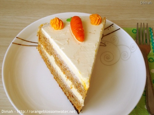 Dimah - http://www.orangeblossomwater.net - Old Fashioned Carrot Cake 96