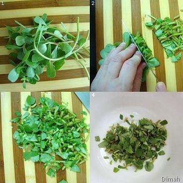 Dimah - http://www.orangeblossomwater.net - Fattoush Khudar II 1