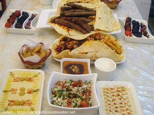 Dimah - http://www.orangeblossomwater.net - Ramadan, Iftar - 2010 1