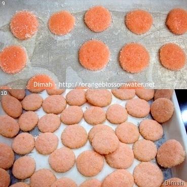 Dimah - http://www.orangeblossomwater.net - Pink Lemonade Wafers 3