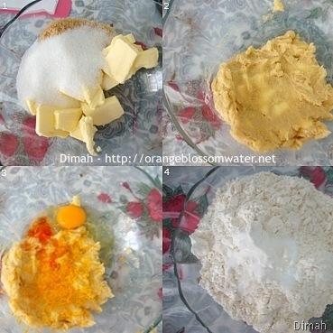 Dimah - http://www.orangeblossomwater.net - White Chocolate Orange Dream Cookies 1