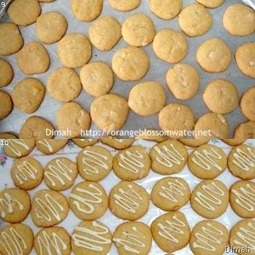 Dimah - http://www.orangeblossomwater.net - White Chocolate Orange Dream Cookies 3