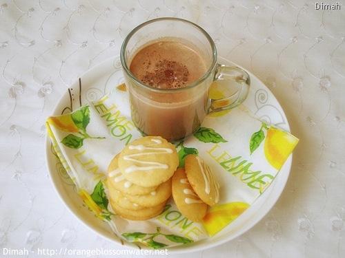 White Chocolate Orange Dream Cookies « Orange Blossom Water