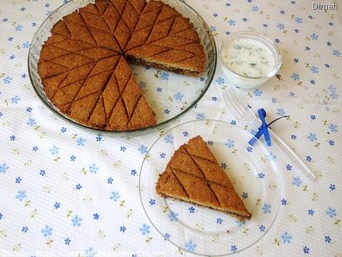 Dimah - http://www.orangeblossomwater.net - Kibbeh Bes-Seiniyeh 99a