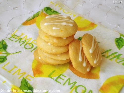 Dimah - http://www.orangeblossomwater.net - White Chocolate Orange Dream Cookies 8