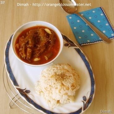 Dimah - http://www.orangeblossomwater.net - Bamieh Bel-Bandourah 90