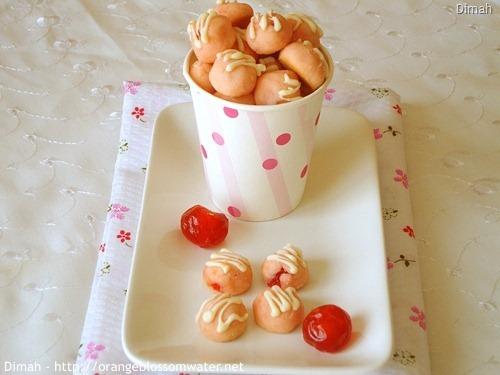 cherryDimah - http://www.orangeblossomwater.net - Cherry Tea Cakes 4