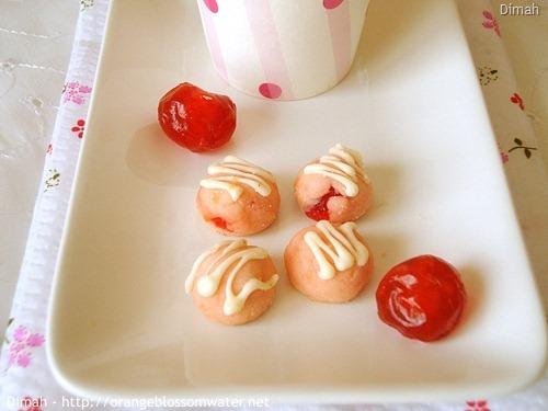 Dimah - http://www.orangeblossomwater.net - Cherry Tea Cakes 7