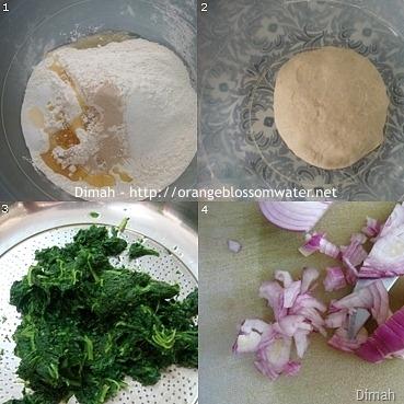 Dimah - http://www.orangeblossomwater.net - Fatayer Sabanekh 1