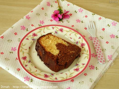 Dimah - http://www.orangeblossomwater.net - Vanilla Fudge Marble Cake 8