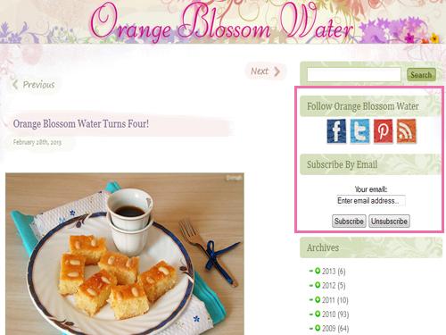 Dimah - http://www.orangeblossomwater.net - Updates