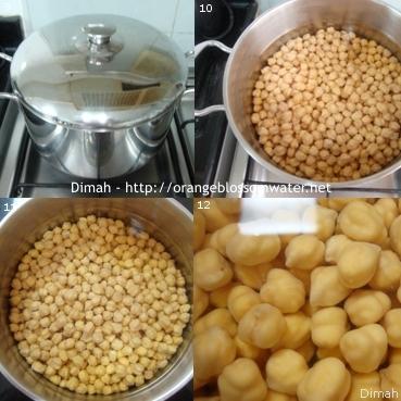 Dimah - http://www.orangeblossomwater.net - Fattet Hummus Bel-Laban 3