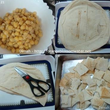 Dimah - http://www.orangeblossomwater.net - Fattet Hummus Bel-Laban 6