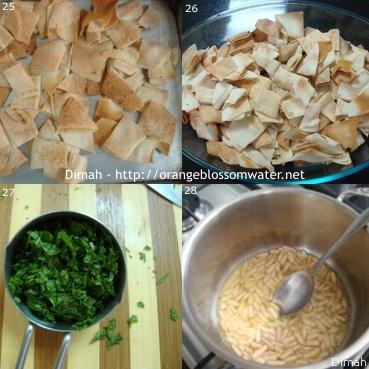 Dimah - http://www.orangeblossomwater.net - Fattet Hummus Bel-Laban 7