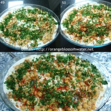 Dimah - http://www.orangeblossomwater.net - Fattet Hummus Bel-Laban 93