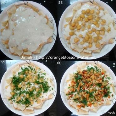 Dimah - http://www.orangeblossomwater.net - Fattet Hummus Bel-Laban 96