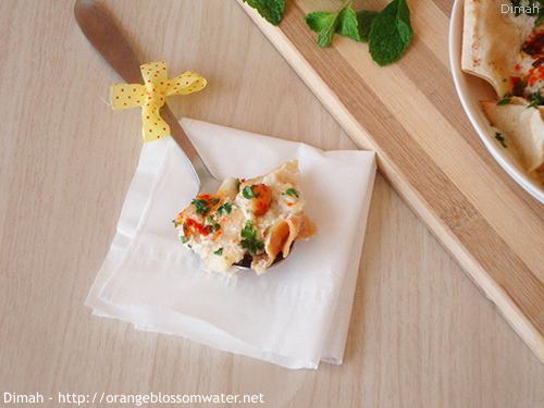 Dimah - http://www.orangeblossomwater.net - Fattet Hummus Bel-Laban 99g