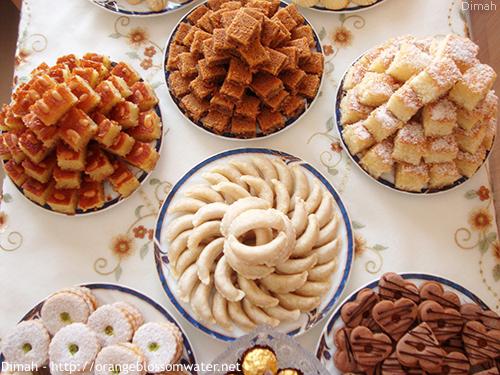 Dimah - http://www.orangeblossomwater.net - Eid Al-Fitr, Sweets - 2013 6