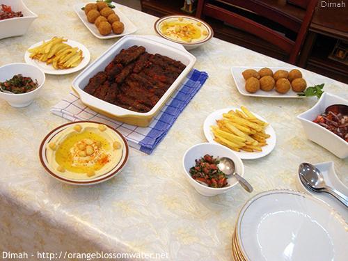 Dimah - http://www.orangeblossomwater.net - Ramadan Iftar 1