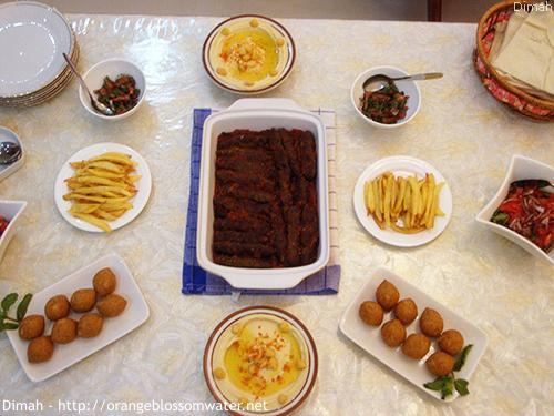 Dimah - http://www.orangeblossomwater.net - Ramadan Iftar 2