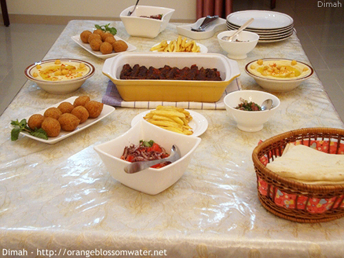 Dimah - http://www.orangeblossomwater.net - Ramadan Iftar 5