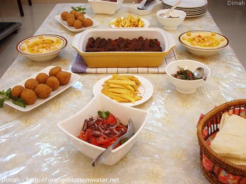 Dimah - http://www.orangeblossomwater.net - Ramadan Iftar 6