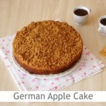 Dimah - http://www.orangeblossomwater.net - German Apple Cake