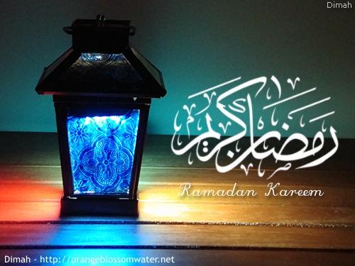 Dimah - http://www.orangeblossomwater.net - Ramadan Kareem - 2014
