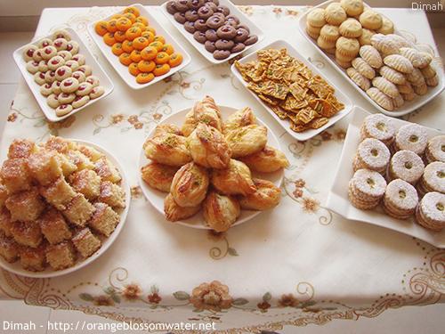 Dimah - http://www.orangeblossomwater.net - Eid Al-Fitr, Sweets - 2014 1