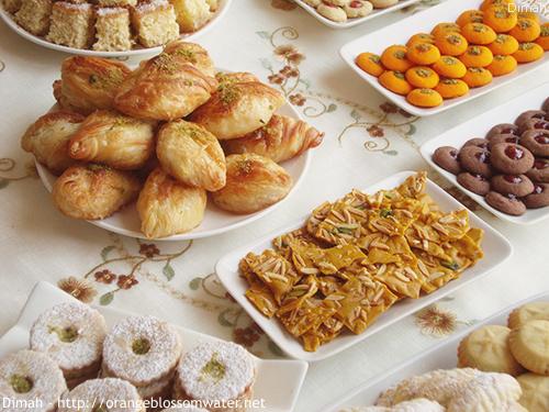 Dimah - http://www.orangeblossomwater.net - Eid Al-Fitr, Sweets - 2014 2