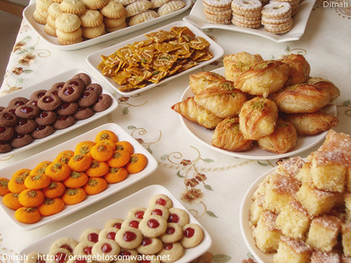 Dimah - http://www.orangeblossomwater.net - Eid Al-Fitr, Sweets - 2014 3