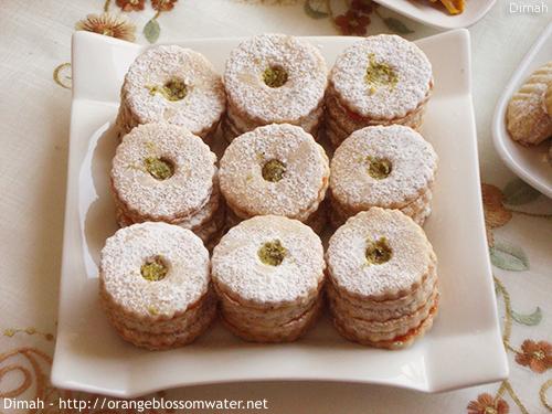 Dimah - http://www.orangeblossomwater.net - Eid Al-Fitr, Sweets - 2014 9