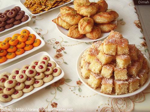 Dimah - http://www.orangeblossomwater.net - Eid Al-Fitr, Sweets - 2014 99b